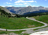 Descending from Cottonwood Pass