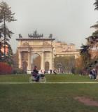A ride through the park (Parco Sempione)