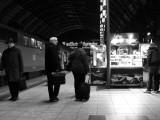 Late night departure (Frankfurt)