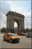 The Arc di Triumph (w/Dacia Taxi)