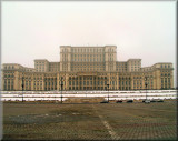 The Parliament Palace (The 'Peoples House' - Ceausescu's folly - the second largest building in the world)