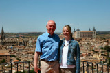 In Toledo with Amy
