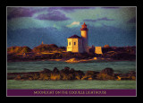 Moonlight On The Coquille Lighthouse