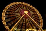 Ferris wheel in action