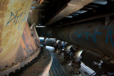 Inside blast furnace #5