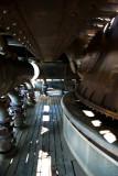 Detail inside blast furnace #5