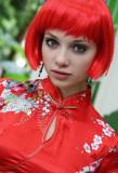 Pretty Miss Red Wig