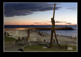 Cott beach art 2007