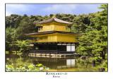 Kinkaku-ji 1 (the Golden Pavilion), re-edited