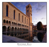 Winter Sunset over UWA's Winthrop Hall (HDR Image)