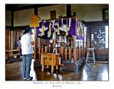 Shrine at the top of Himeji Jo
