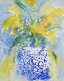 Blue Pot £250 (inc frame)