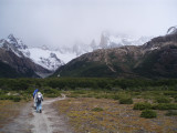 Tres Largo's hike - on the way to Fitz Roy