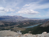 The view from the top (Tres Largos Hike)
