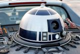 Noticed in the parking lot - is that R2D2?