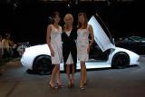 Ladies with a Lamborghini Murciélago