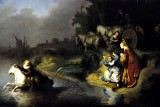 The Abduction of Europa - Rebrandt - 1632