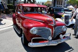 1941 Dodge Luxury Liner Sedan with Butterfly chrome grille - Click on photo for more info