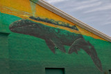 Newly Wyland painted building