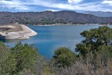 Lake Cachuma Dam area