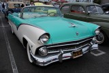 1955 Ford Sunliner Convertible in the new for '55 Fairlane Series