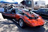 1972 Corvette - flames winner
