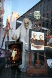 Village Ghouls - NY Costume Store Window with Street Reflections