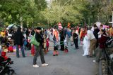Halloween Celebration in the Park
