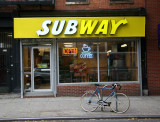 New Subway Restaurant