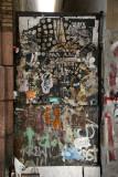 Graffiti above Grand Street