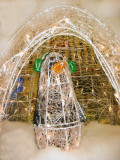 Penquin in an Igloo at Associated Market