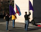 Flag Waving Practice