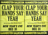 Hammerstein Ballroom New Year's Eve Poster