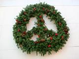 B Bar Grill & Cafe Peace Wreath