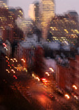 Dawn - Downtown Manhattan Abstract