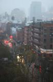 Misty Dawn - Downtown Manhattan