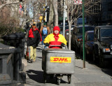 DHL Delivery Courier