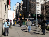 Moving Out on a Sunny Cold Day at 12th Street