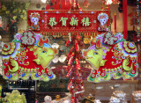 Novelty Store Window - Chinese New Year of the Pig Decoration