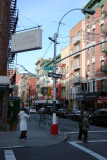 Intersection at Hester Street