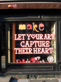 make - Let Your Art Capture Their Heart Window