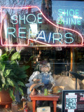 Shoe Repair Store Window