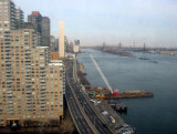 Midtown East River - North View