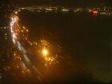 East River & Queens Borough Bridge at Night