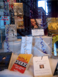 Winter Books - NYU Bookstore Window