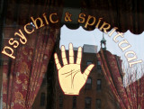 Psychic & Spiritualist Advisor Window & Reflections