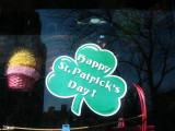 Happy St. Patrick's & Easter - Village Paper Store Window