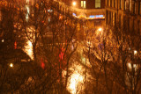 Bleecker Street Corner in the Rain