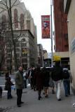 Washington Square South at LaGuardia Place
