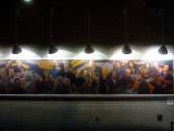 Mural of Greenwich Village Personalities at Morton Williams Supermarket